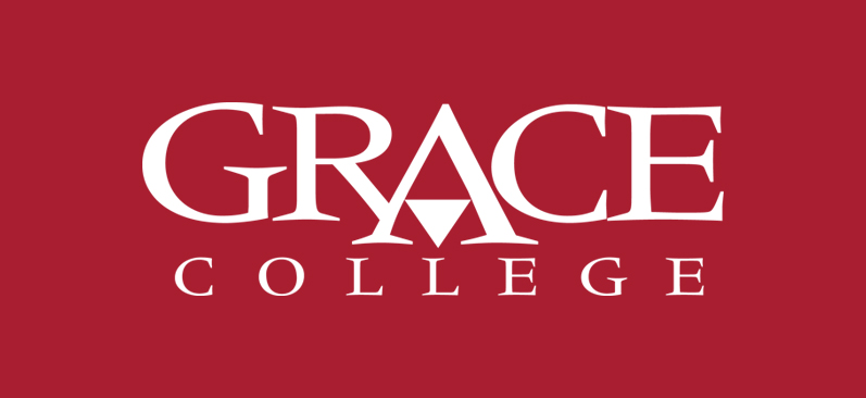 Grace College red logo