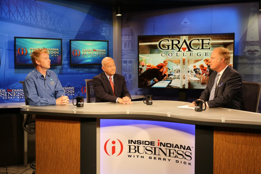 Dr. Bosh and Dr. Bill Katip on Inside Indiana Business with Gerry Dick