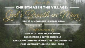 Invitation to Christmas in the Village