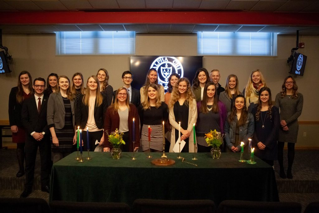 Alpha Chi Honor Society Grace College